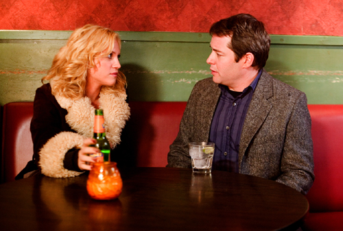 Brittany Snow and Matthew Broderick in Finding Amanda